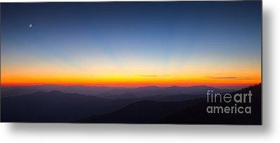 Great Smokie Mountains Sunset Metal Print by Dustin K Ryan