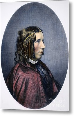Harriet Beecher Stowe Metal Print by Granger
