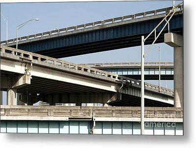 Highways Metal Print by Blink Images