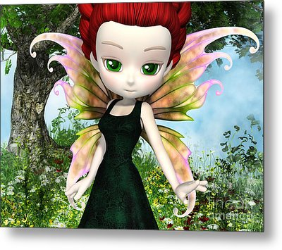 Lil Fairy Princess Metal Print by Alexander Butler