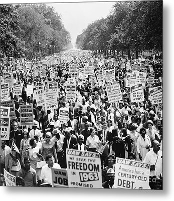 March On Washington. 1963 Metal Print by Granger