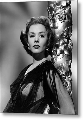 Piper Laurie, 1952 Metal Print by Everett