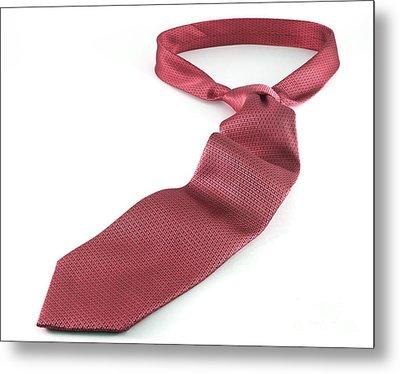 Red Tie Metal Print by Blink Images