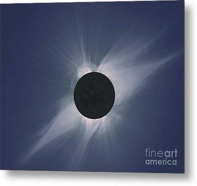 Solar Eclipse Metal Print by Nasa