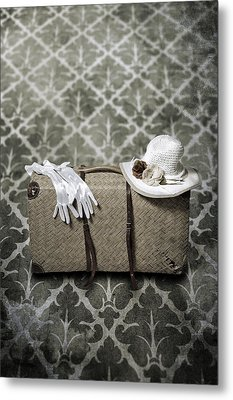 Suitcase Metal Print by Joana Kruse