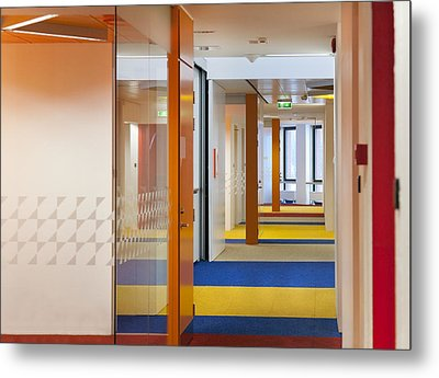 Healthcare College Health Care Metal Print by Jaak Nilson