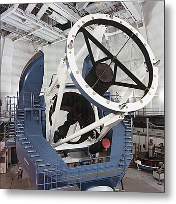 3.5-metre Optical Telescope Metal Print by Eckhard Slawik