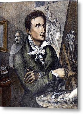 Antonio Canova (1757-1822) Metal Print by Granger