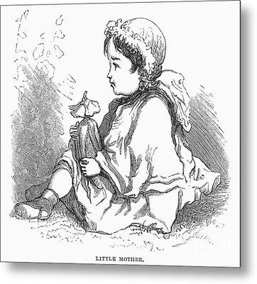 Children: Types Metal Print by Granger
