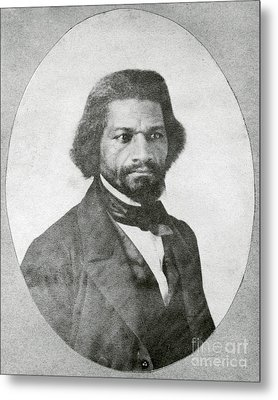 Frederick Douglass, African-american Metal Print by Photo Researchers