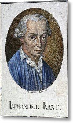 Immanuel Kant (1724-1804) Metal Print by Granger