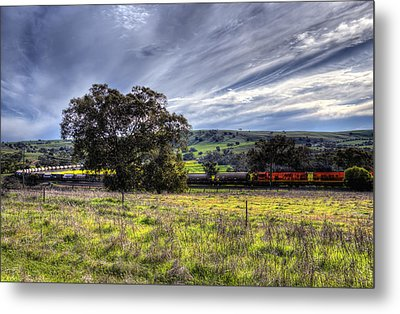 Rural Australia Metal Print by Imagevixen Photography