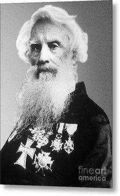 Samuel Morse, American Inventor Metal Print by Science Source