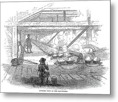 Slave Labor, 1857 Metal Print by Granger