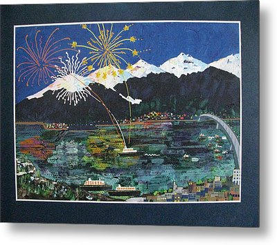 4th Of July In Juneau Alaska Metal Print by Sunny Eccleston