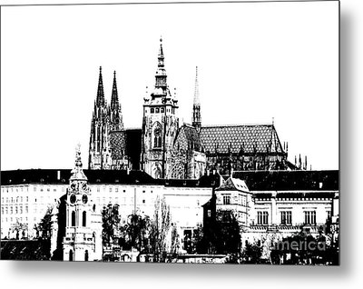 Cathedral Of St Vitus Metal Print by Michal Boubin
