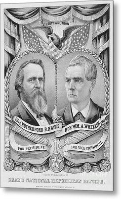 Presidential Campaign, 1876 Metal Print by Granger