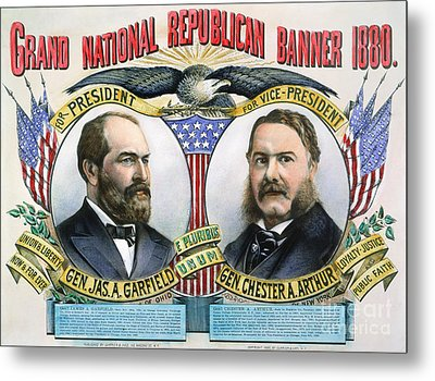 Presidential Campaign, 1880 Metal Print by Granger