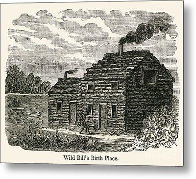 Wild Bill Hickok (1837-1876) Metal Print by Granger