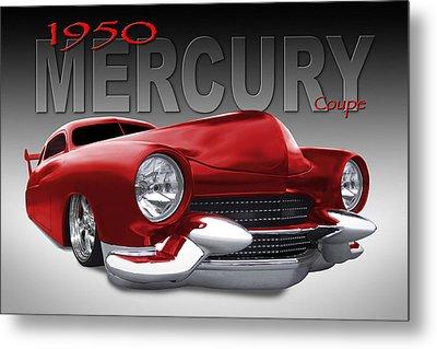 50 Mercury Lowrider Metal Print by Mike McGlothlen