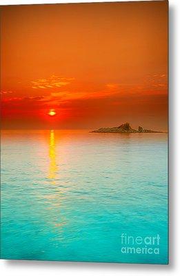 Sunrise Metal Print by MotHaiBaPhoto Prints