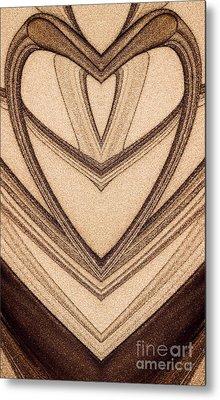 The Magic Background Metal Print by Odon Czintos