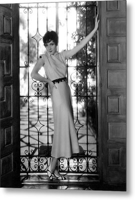 Claudette Colbert, Paramount Pictures Metal Print by Everett