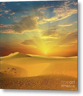 Desert Metal Print by MotHaiBaPhoto Prints