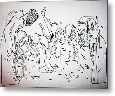 The Wise Virgins Metal Print by Gloria Ssali