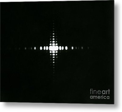 Fraunhofer Diffraction Metal Print by Omikron
