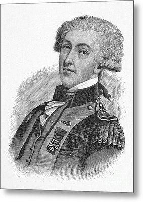 Marquis De Lafayette Metal Print by Granger