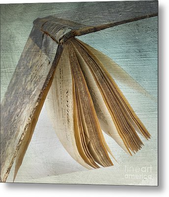 Old Book Metal Print by Bernard Jaubert
