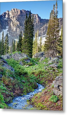 Wasatch Mountains Utah Metal Print by Utah Images