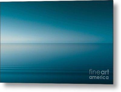 Blue Lake Metal Print by Odon Czintos