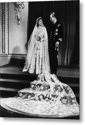 British Royalty. Future Queen Metal Print by Everett