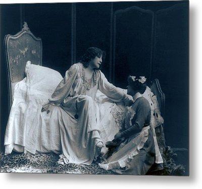 Sarah Bernhardt 1844-1923, French Metal Print by Everett