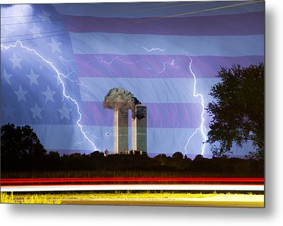 9-11 We Will Never Forget 2011 Metal Print by James BO  Insogna