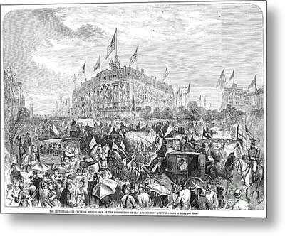 Centennial Fair, 1876 Metal Print by Granger