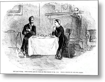 John Brown (1800-1859) Metal Print by Granger
