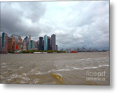 A Cloudy Day Metal Print by Pravine Chester