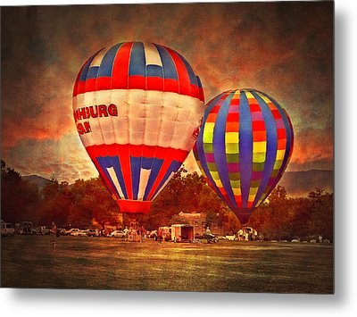 A Day At The Rally Metal Print by Kathy Jennings