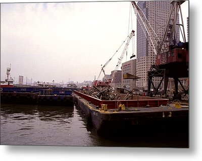 A Few Blocks From Ground Zero Heavy Metal Print by Everett