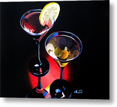 A Hint Of Lemon And Olives Metal Print by Kayleigh Semeniuk