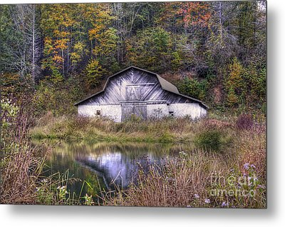 A Is For Autumn Metal Print by Benanne Stiens