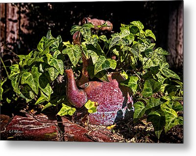 A Kettle Of Greens Metal Print by Christopher Holmes