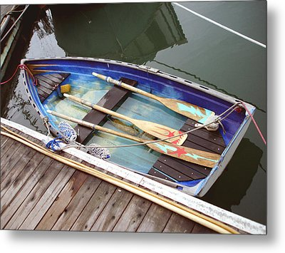 A Neat Boat Metal Print by Hiroko Sakai