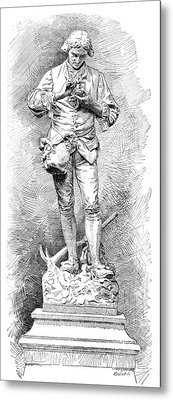 A. Parmentier, French Food Scientist Metal Print by