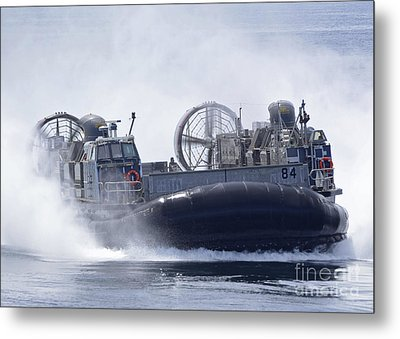 A U.s. Marine Corps Landing Craft Air Metal Print by Stocktrek Images