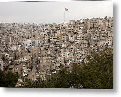 A View Of Amman, Jordan Metal Print by Taylor S. Kennedy