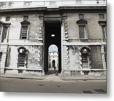 A View Of The Royal Naval College Metal Print by Anna Villarreal Garbis